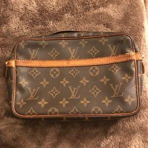 Authentic vintage Louis Vuitton cosmetics bag